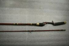 """Vintage Ted Williams Professional Model 2 Pc; 6'5"""" Fishing Rod"""