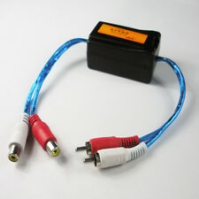 3.5mm Jack Pro DJ RCA Ground Loop Isolator Audio Stereo Hum Noise Filter Car QJ