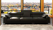 Design Ledersofa Sofa Couch Polster Ecke Sitz Garnitur Wohnlandschaft Sofas Big