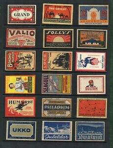 Matchbox Labels Advertising Rare early Made in FINLAND  #635