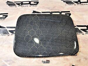 RPG Vacuum Honeycomb Carbon Fuel Door Cover for 02-07 Subaru GG Wagon WRX 03 05