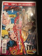 New Mutants #98  SIGNED Stan Lee And Rob Liefeld 1st Deadpool True Believer