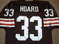 VTG AUTHENTIC 90's LEROY HOARD CLEVELAND BROWNS NFL RUSSELL JERSEY 48 SEWN!