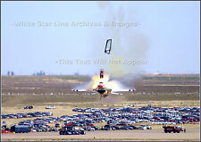 "Poster Print: 13"" x 18"": F16 Pilot Ejects Before Crash: Mountain Home Afb, 2003"