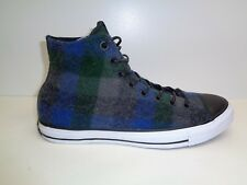 Converse Size 10 WOOLRICH X CHUCK TAYLOR Gray Wool Sneakers New Mens Shoes