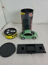 RARE GREEN VW BEETLE REMOTE RADIO CONTROL CAR MATTEL TYCO RC CANNED HEAT WORKS !
