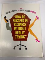 "Vintage ""How To Succeed In Business Without Really Trying"" Souvenir Program 70's"