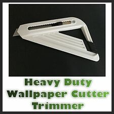 Uk Made Linic Heavy Duty Wallpaper Paper Cutter Trimmer Edger DIY Decorating