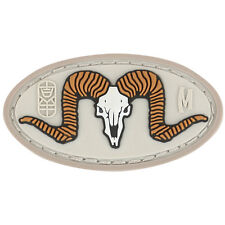PVC Morale Patch MAXPEDITION RAM SKULL - ARID Tan - NEW