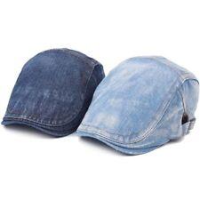 Vintage Baseball Cap Men Adjustable Hat Unisex Denim Distressed Trucker Hats ONE