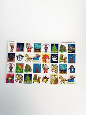 Vintage Christmas Stickers Holiday Planner Organizer Educational Supplies 1990s