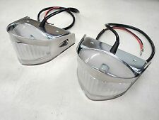 53 54 1953 1954  FORD  TRUCK PARK LIGHT ASSEMBLY STAINLESS  NEW