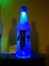 Minecraft LED Bottle Light, Pub Bar Neon Man Cave Sign