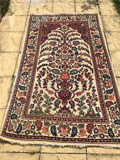 £ 3500 liberty london antique persian kashaan main noué laine 225 x 130 cm