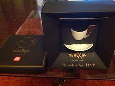 ILLY COLLECTION 1997  VENEXIA PLATINUM BY LUCA TRAZZI TAZZINA ESPRESSO CUP