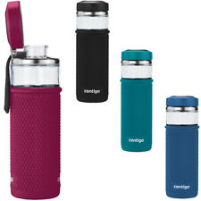 Contigo 20 oz. Evoke Quick-Twist Lid Glass Water Bottle