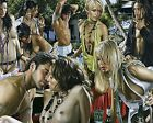 Art Quality Canvas Print,Oil Painting Adult gathering wine Home Decor  16×20