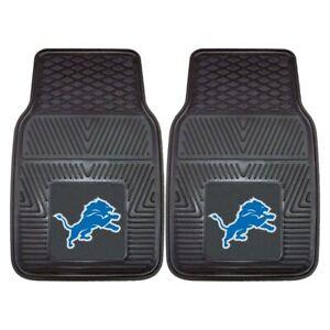 NFL Detroit Lions Auto Front Floor Mats 1 Pair by Fanmats
