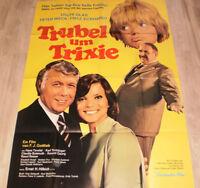 A0 Filmplakat  TRUBEL UM TANTE TRIXIE, USCHI GLAS, PETER WECK,