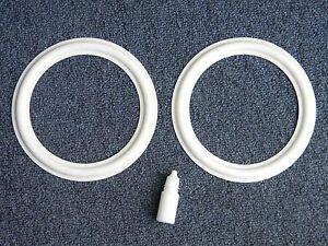 JBL LE8T Replacement Foam White Edge for JBL LE8T,PR8  pair