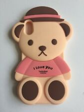 NEW Cute 3D Teddy Bear Silicone Phone Case Cover iPhone X / XS FREE P&P