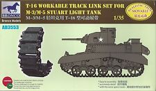 M3/M5 STUART  WARKABLE TRACK LINKS 1/35 BRONCO 3553