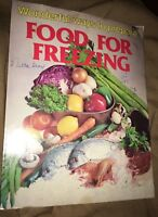 Wonderful Ways to Prepare FOOD FOR FREEZING by Jo Ann Shirley (1979 paperback)