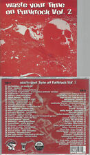 CD--WASTE YOUR TIME ON PUNKROCK VOL 2