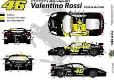 [FFSMC Productions] Decals 1/43 Ferrari F-430 Scuderia GT Valentino Rossi