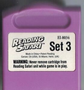 Reading Safari Set 3 CARTRIDGE ONLY Word Builders EI-8034 for Ages 6-8 Education