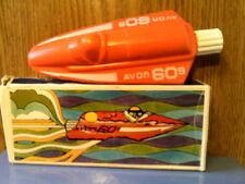 Rhtf Vtg 1972 Avon The Racer (Boat) Sports Talc-From Germany-Nib-Free Ship