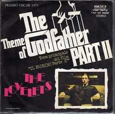 disco 45 GIRI THE THEME OF GODFATHER PART II (IL PADRINO II) THE LOVELETS