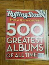 ROLLING STONE DECEMBER 11 2003 500 GREATEST ALBUMS OF ALL TIME COLLECTORS ISSUE