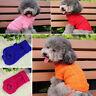 Cute Small Teacup Pet Dog Cat Sweater Knit Coat Puppy Pet Clothes Jumper XS-XL