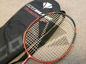 Badminton racket. Carlton Isoblade. Graphite. Used once!