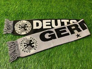 GERMANY DEUTSCHLAND NATIONAL TEAM RARE FOOTBALL SOCCER FAN SCARF