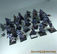 Dark Elves with Crossbow Regiment - incomplete - Warhammer Age of Sigmar C1199