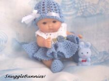 "SWEET LADYBUG DRESS FITS 5/"" BERENGUER REBORN OOAK BABY !"