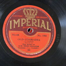 78 tr/min Band of Irish écossaise Old comrades/Voice of the Guns Imperial 1950