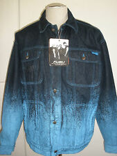 FUBU LIMITED COLLECTION SINCE 1992 DENIM JEANS JACKET XL  NEW SALE RARE AWESOME