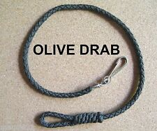 BELT LANYARD for Keys / Wallet made with OLIVE DRAB braided Paracord - NEW
