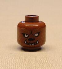 x1 NEW Lego Minifig Head with Werewolf Pattern Scary Halloween Minifigure