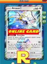 Arceus Prism Star - for Pokemon TCG Online ( ptcgo in Game Card)