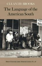 Mercer University Lamar Memorial Lectures: The Language of the American South...
