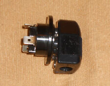 NOS Bulgin 3 pin mains amp chassis socket and AC plug end 60's VOX amps RARE!
