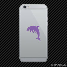 (2x) Dolphin Cell Phone Sticker Mobile marine mammal ver 2 many colors