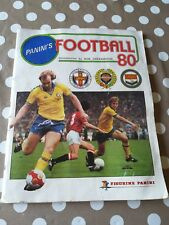 Panini Football 80 Sticker Album COMPLET