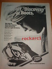 ELO  Discovery (Boots) 1979 UK Poster size Press ADVERT 16x12 inches