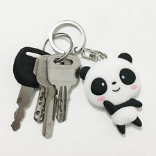 Cute Cartoon Lovely Panda Keychain Silicone Keyring Bag Phone Pendant
