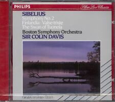 SIBELIUS - Symphony 2 / Finlandia / Valse Triste / The Swan - Colin DAVIS - NEW
